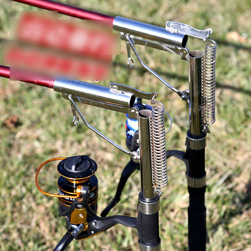 Automatic Fishing Rod Holders for Ground Auto Tip Up Activated Hook Setter