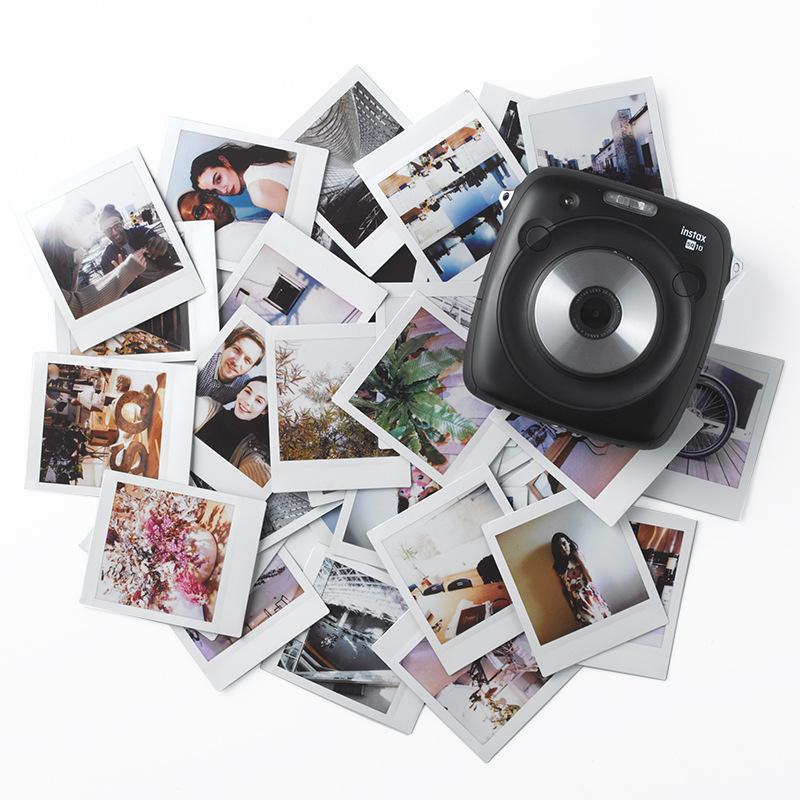 Wide Instant Film Photo Paper, White