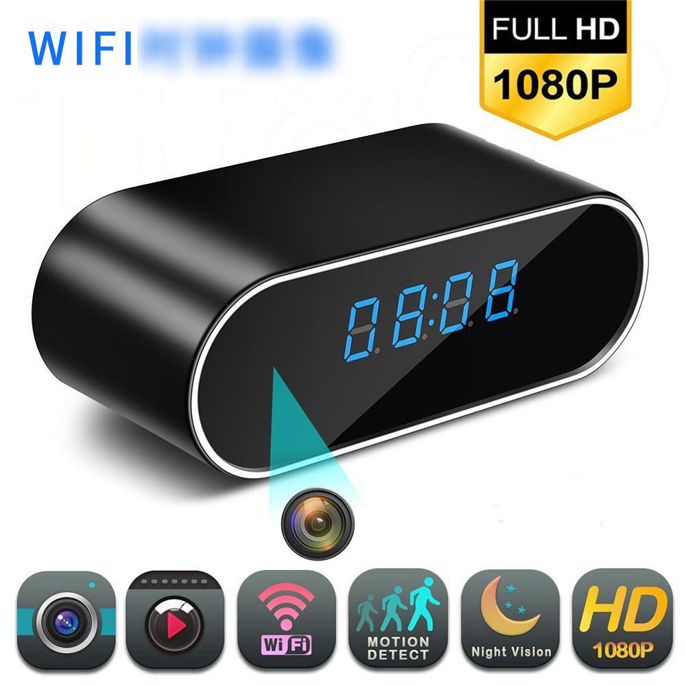 1080P Video Recorder Wireless Hidden in Clock IP Camera