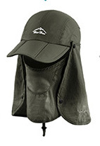 Outdoor Hat 360 Degree Protective Cap Climbing Fishing Hat Quick-drying Shade Ghost Hat Sun Hat Cap