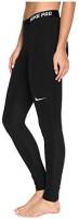 Nike Women's Pro Warm Tights, Black/Black/Black/White, Small: Clothing
