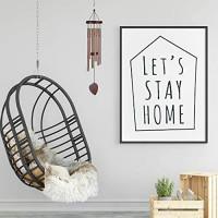 ZOUTOG Wind Chimes Outdoor, 29'' Handmade Wooden Chimes with 6 Metal Hollow Tubes & Hanging Hook, Outdoor Decor for Home/Yard/Patio/Garden : Garden & Outdoor
