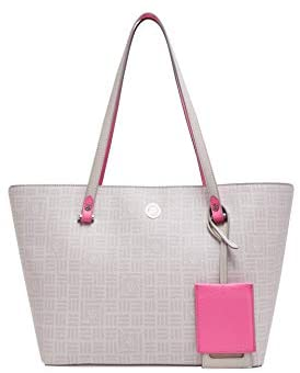 Anne Klein Carryall Tote Grey One Size: Shoes