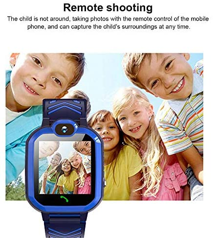 Kids Waterproof Smart Watch Phone, GPS/LBS Tracker Smart Watch for Kids for 3-12 Year Old Compatible iOS Android Smart Watch Christmas Birthday Gifts for Kids(Excluding SIM Card): Electronics