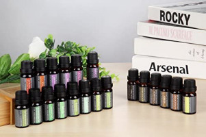 Aromatherapy Oils 100% Pure Basic Essential Oil Gift Set by Wasserstein (Top 20): Health & Personal Care