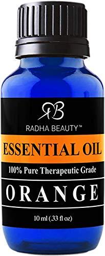 Radha Beauty Aromatherapy 18 Essential Oils (Lavender, Tea Tree, Peppermint, Lemongrass, Orange, Eucalyptus, Rosemary, Frankincense, Lemon, Bergamot, Cedarwood, Patchouli, Geranium, and more): Beauty