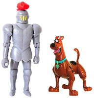 Scooby-Doo! 50th Anniversary Twin Figure Pack Exclusive - Frightface Scooby and The Black Knight: Toys & Games