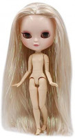 ICY Doll Dream Fairy Fortune Days Toys 12 inch Nude Doll with Natural Skin and Small Breast Joint Body. (BL9103): Toys & Games