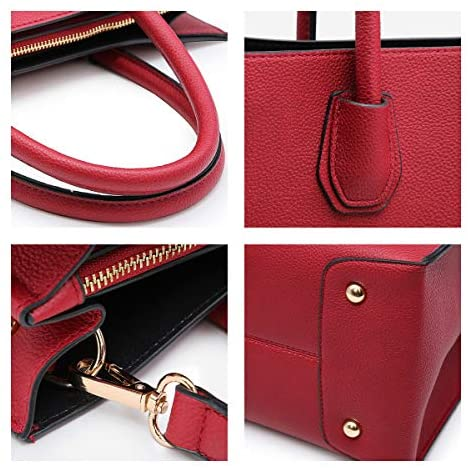Dasein Purses and Handbags for Women Satchel Bags Top Handle Shoulder Bag Work Tote Bag With Matching Wallet: Shoes