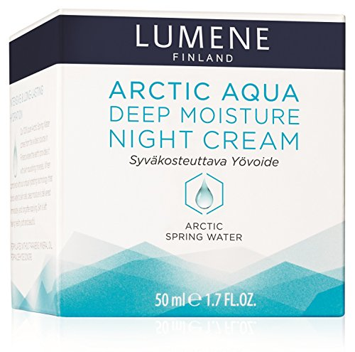 Lumene Arctic Aqua Deep Moisturizing Night Cream For Normal And Dry Skin (Deep Moisture Night Cream) 1.7 oz: Beauty