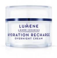 Lumene Lahde Hydration Recharge Overnight Cream 1.7 oz. (1 Pack): Beauty