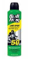 Bullfrog Sunscreen Land Sport-Dri Spray SPF50, 6 oz: Beauty