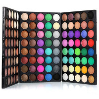 2017 New Eyeshadow Eye Shadow Palette Makeup Kit Set Make Up Professional Box, KRABICE Ultra Flawless 120 Color Mini Eyeshadow Palette : Beauty