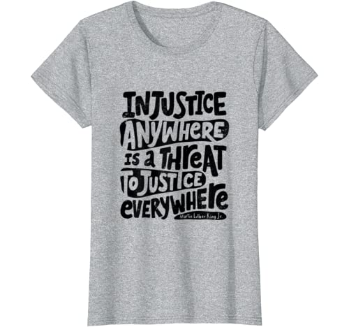 Black Lives Matter African American Protest Racism BLM T-Shirt: Clothing