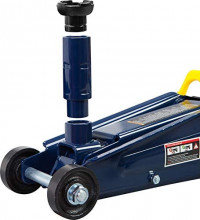 TCE AT83006U Torin Hydraulic Trolley Service/Floor Jack with Extra Saddle (Fits: SUVs and Extended Height Trucks): 3 Ton (6,000 lb) Capacity, Blue: Automotive