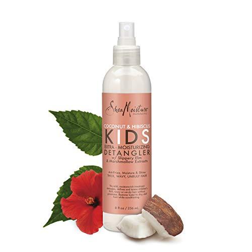 SheaMoisture Kids Coconut & Hibiscus Extra-Moisturizer Detangler, 8 Fl Oz: Beauty