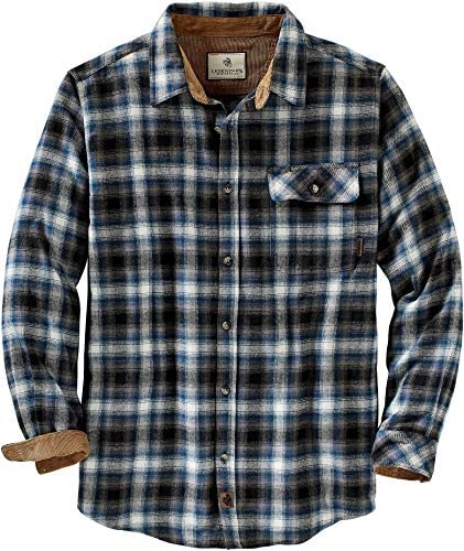Legendary Whitetails Men's Buck Camp Flannel Shirt: Clothing