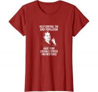 Conservative Republican Libertarian Spayed Neutered T-Shirt: Clothing
