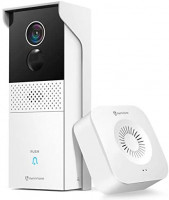 HeimVision Video Doorbell Camera, Battery-Powered Doorbell + Wireless Chime, Motion Activated Alerts, 1080P Wider View, 2-Way Audio, Remote Access, Night Vision, 2-Storage Options, Weatherproof, HMB1 : Camera & Photo