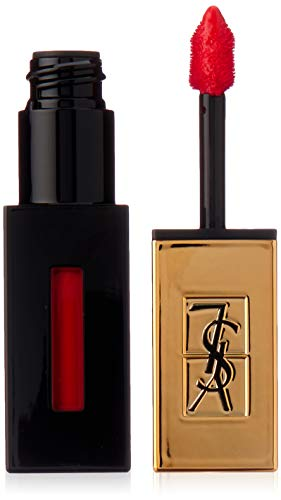Yves Saint Laurent Rouge Pur Couture Vernis a Levres Glossy Stain Rouge Laque for Women, 0.2 Ounce : Yves St Laurent Lip Stick : Beauty
