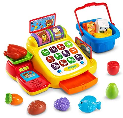 VTech Ring and Learn Cash Register: Toys & Games