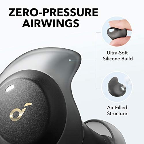 Anker Soundcore Spirit Dot 2 True Wireless Earbuds, Deep Bass, IPX7 Waterproof, Sweatproof, 16H Playtime, Fast Charge, Comfortable AirWings, Bluetooth 5, Mini Sports Earphones, Workout, Gym, Jogging: Electronics