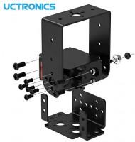 UCTRONICS 15KG High Torque Digital Servo with Bracket Kit, Full Metal Gear for DIY Robotic Arms, Smart Car Robots, PTZ Cameras: Toys & Games
