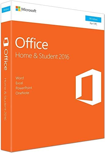 Office 2016 Home and Student for Windows | Product Key Card | Word, Excel, PowerPoint, OneNote