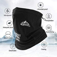 Multifunctional Neck Headwear Face Mask 12 in 1 Bike Motorcycle Hiking dust-Proof Anti-Spray for Women Men Face Scarf Bandana at Men's Clothing store