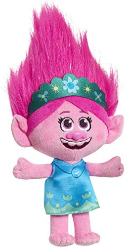 Trolls World Tour 8-Inch Small Plush Poppy: Toys & Games