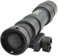 SureFire M600DF Scout 1500 Lumen Tactical Weaponlight with Micro USB Rechargeable 18650 Battery, 4 Extra Surefire CR123A Batteries and Lightjunction Battery Case: Home Improvement