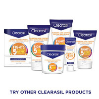 Clearasil Stubborn Acne Control 5 in 1 Spot Treatment Cream, 1 oz (Pack of 2) : Nutritional Supplements And Vitamins : Beauty