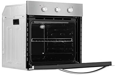 Empava Electric Single Wall Oven with 6 Cooking Functions Mechanical Knobs Control in Stainless Steel 24 Inch, XB14, Black: Appliances