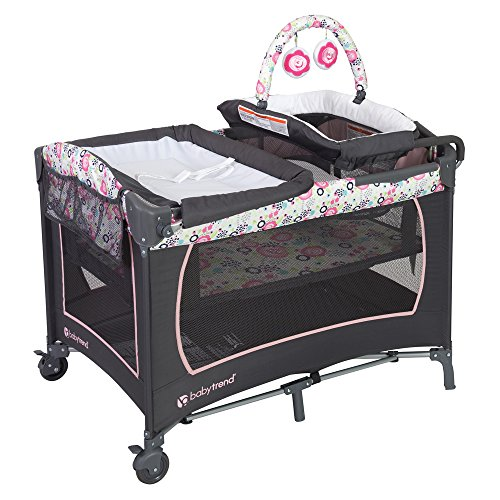 Baby Trend Lil Snooze Deluxe Nursery Center, Flora : Baby