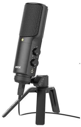 Rode NTUSB Versatile Studio-Quality USB Microphone BUNDLE. Value Kit with Acc: Camera & Photo