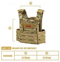 OneTigris Griffin AFPC Modular Vest (Multicam) : Sports & Outdoors