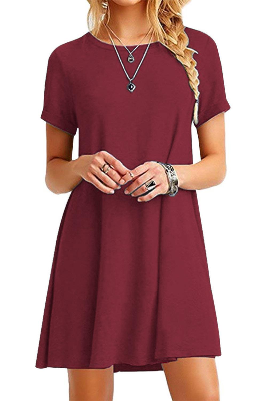 Women's Short-Sleeved  Casual Dress
