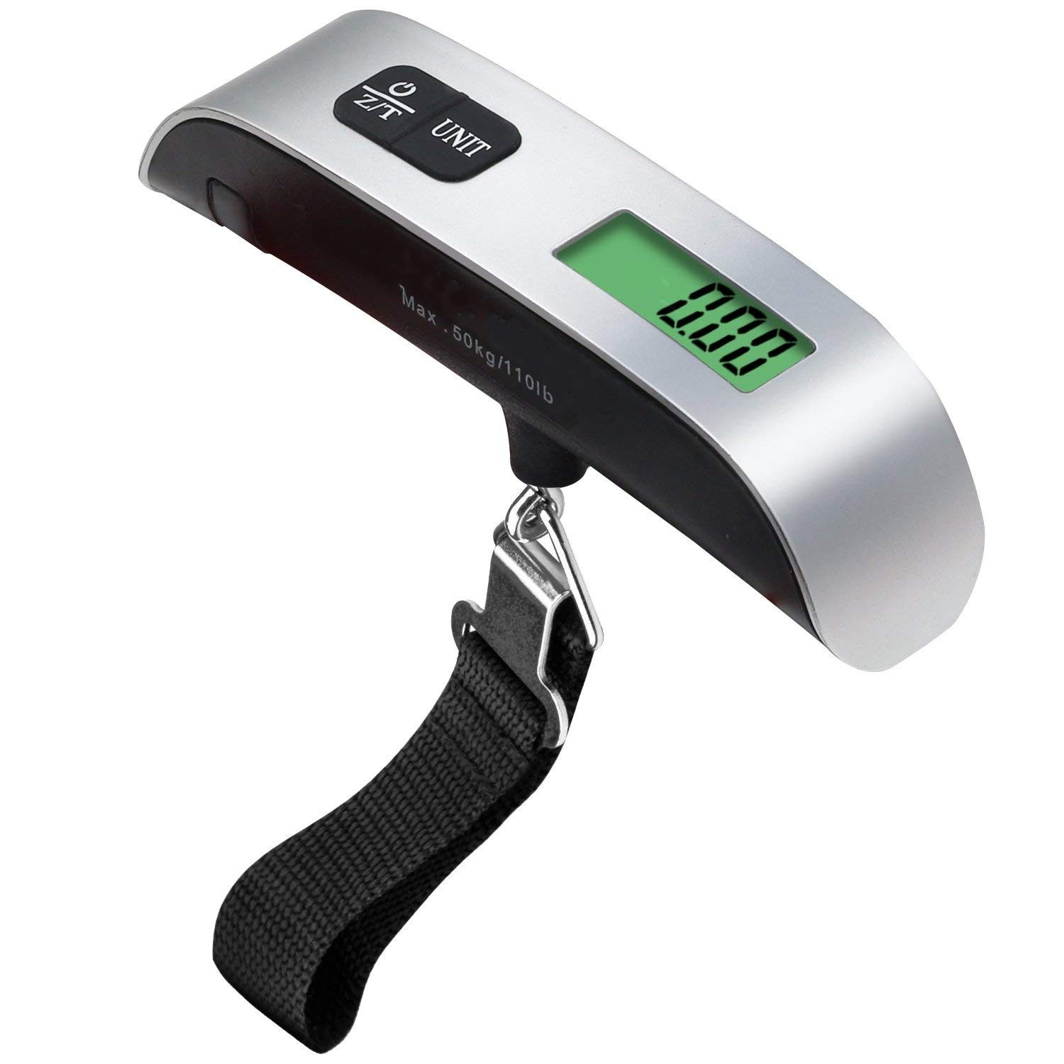 Electronic Baggage Scale Aircraft Travel Portable Electronic Scale Portable Luggage Portable 50kg