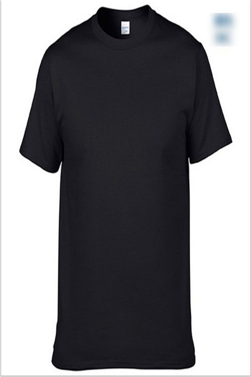 Men's Comfortable Round Neck Short-sleeved T-shirt