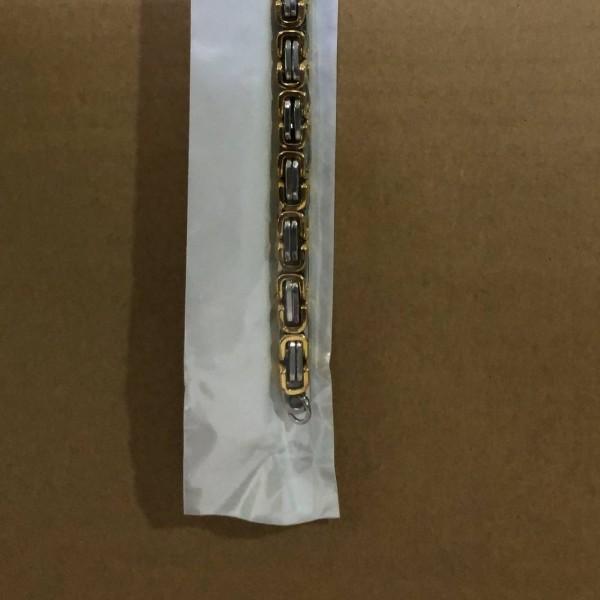 6mm Stainless Steel Silver Men's Link Bracelet