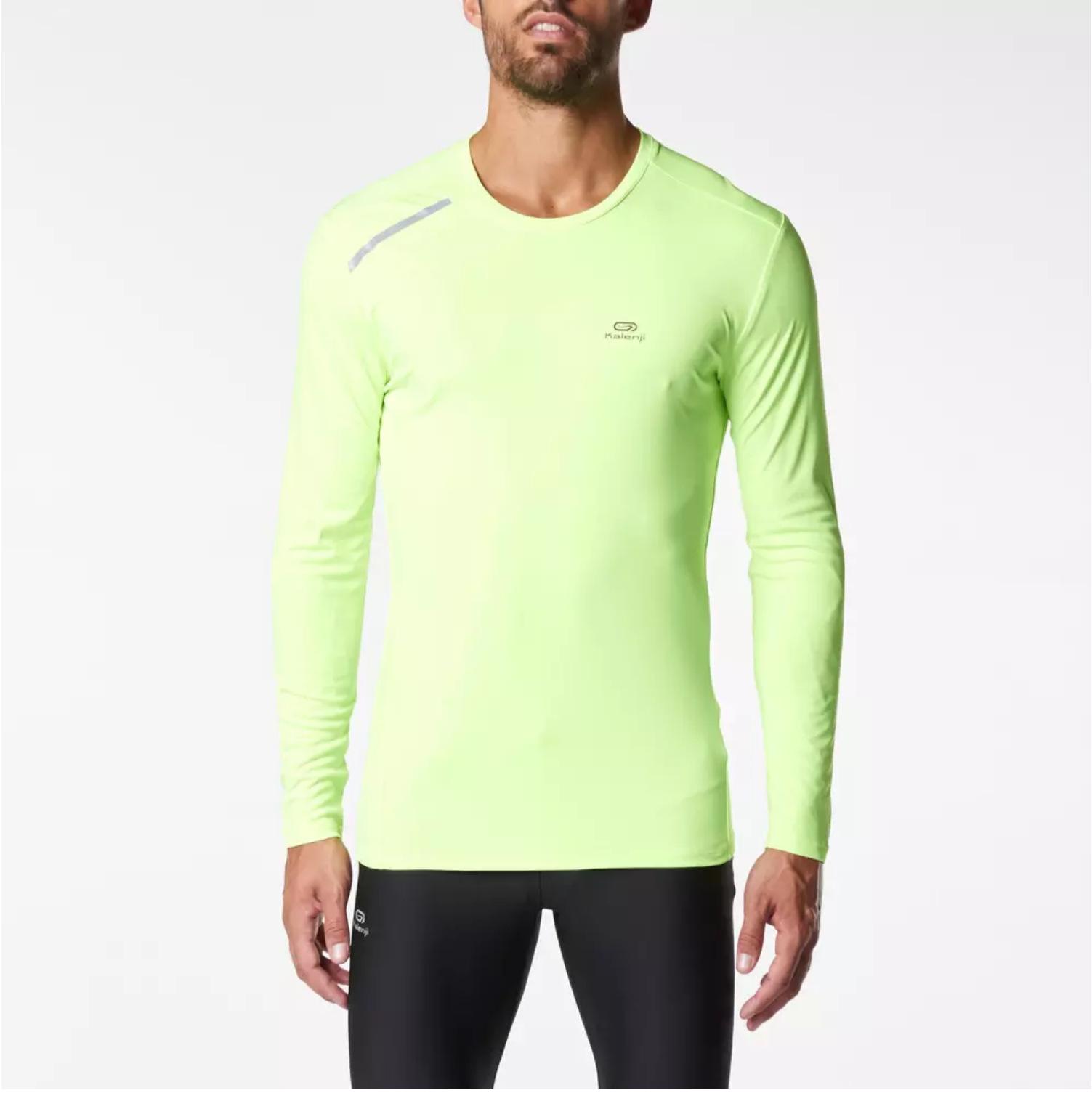 Men's 50+ UV Sun Protection Outdoor Long Sleeve Performance T-Shirt