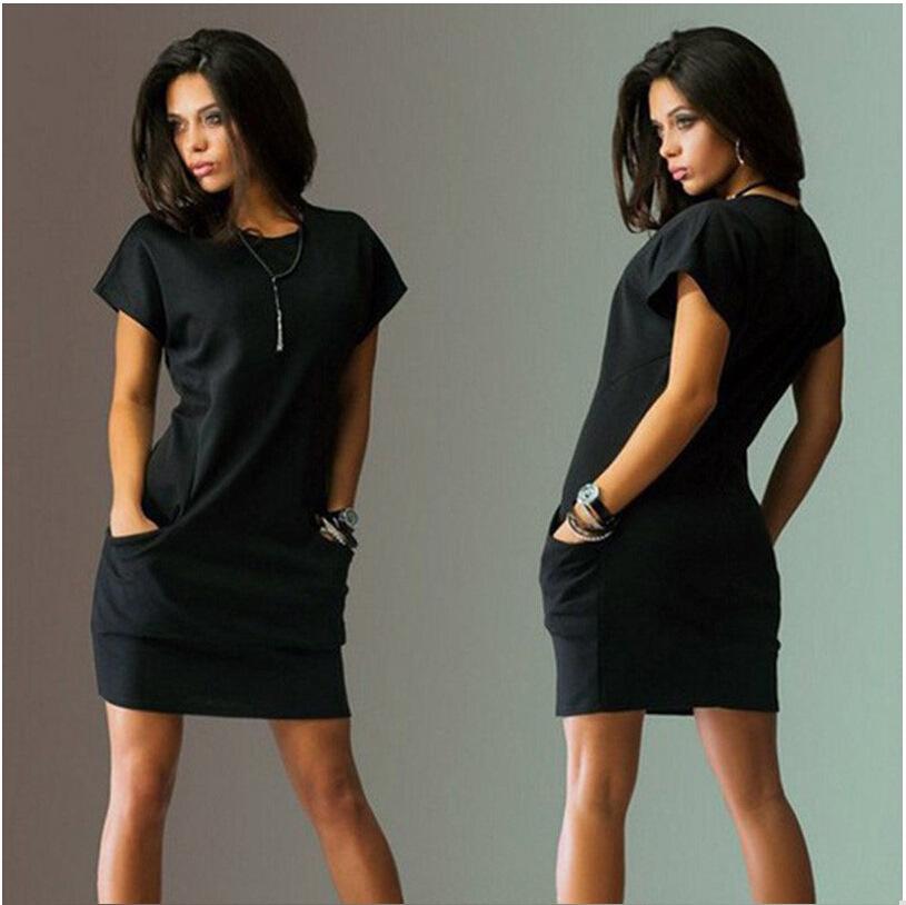 Women's Stretchy Short Dress