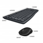 Optical Keyboard And Wireless Mouse Set