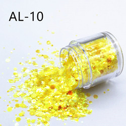 Nail Art Jewelry Big Sequins Mixed Flash Glitter Diy Creative Makeup