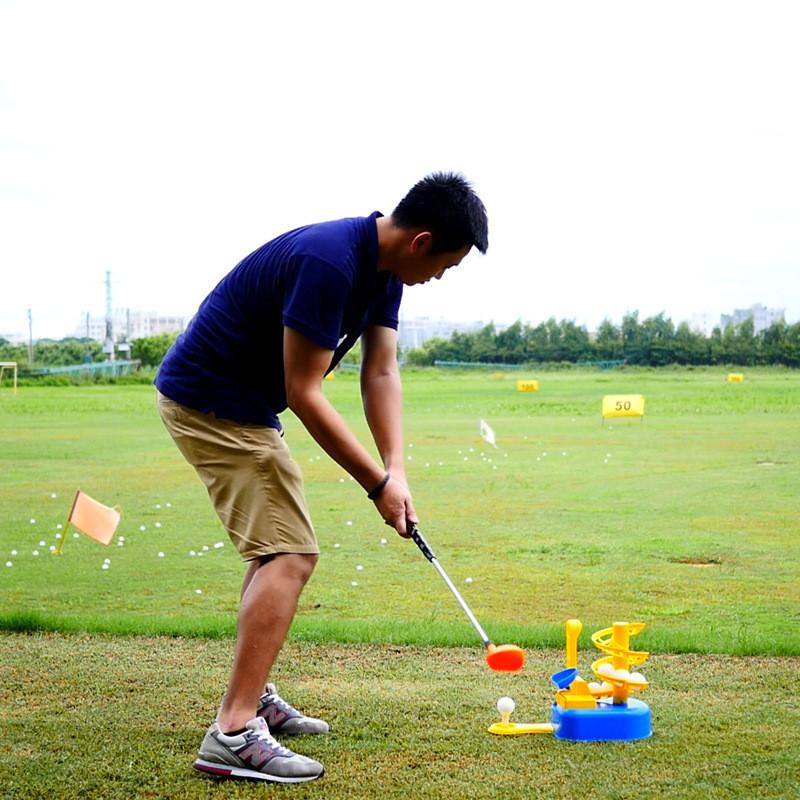 Golf Club Children's Golf Automatic Ball Machine Indoor Golf Entry Training Toy Golf Club
