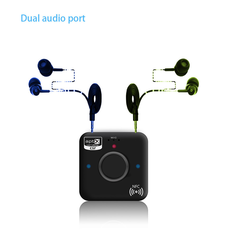 B7  CSR4.2 NFC Wireless Bluetooth Audio Receiver Aptx Speaker High Fidelity Hifi Audio Headset