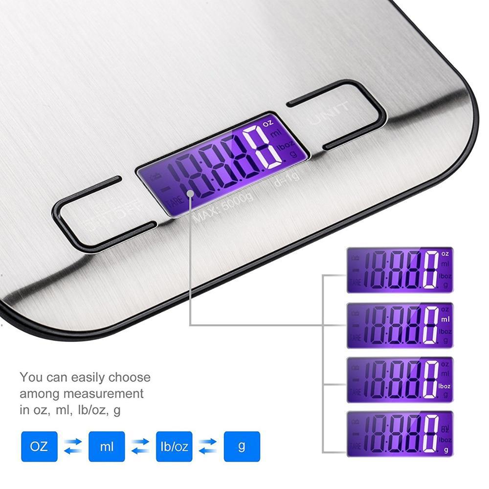 Stainless Steel Kitchen Electronic Scales