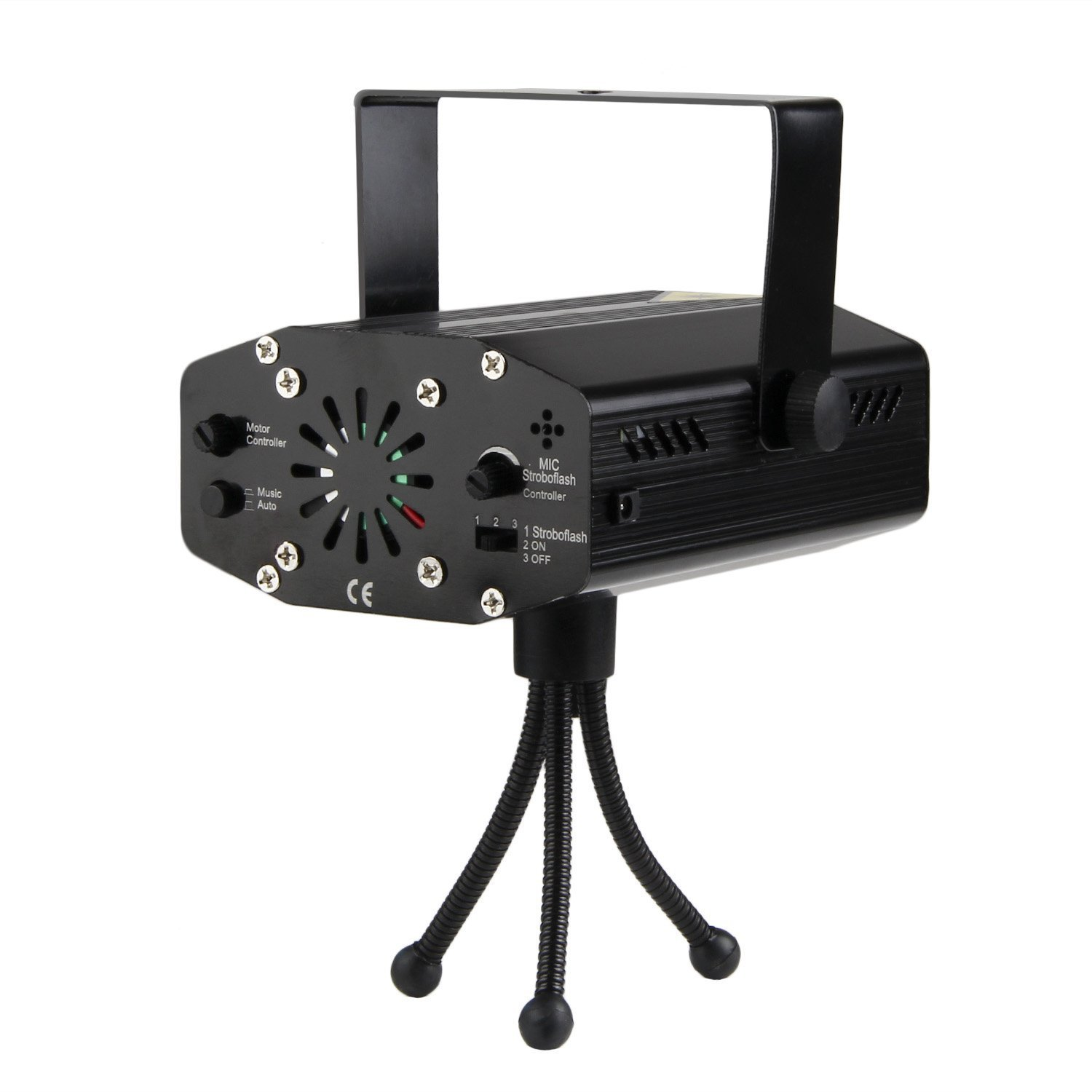 Mini Voice-activated Red And Green Starry Stage Laser Light Bar Laser Light KTV Effect Light