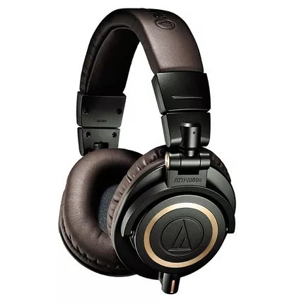 ATH-M50X Professional Head-mounted HIFI Headset iron Triangle Studio Monitor Headphones with Bluetooth Adapter