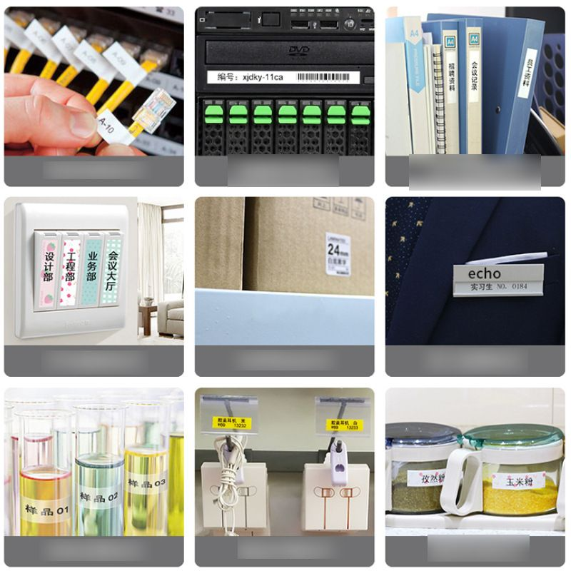 Portable Handheld Sticker Label Printer